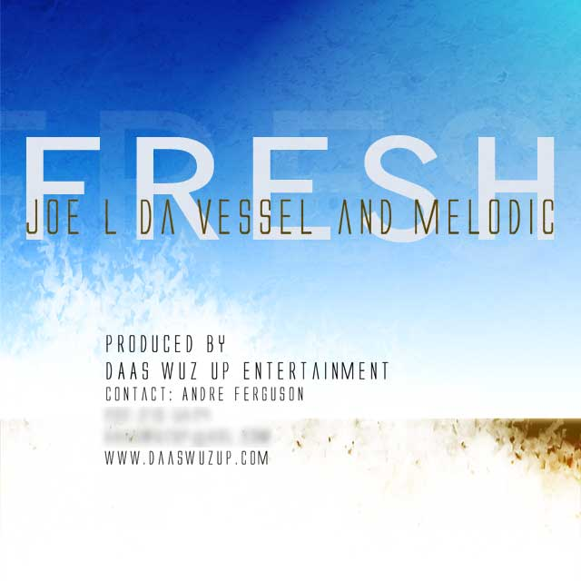 CD Art for Joe L Da Vessel Single Fresh