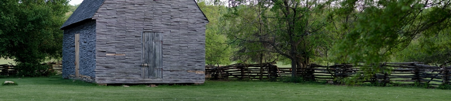 Spring evening at Colonial Farms , Accokeek, MD