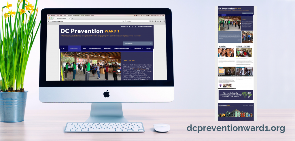 DC Prevention Ward 1 and Ward 2 websites