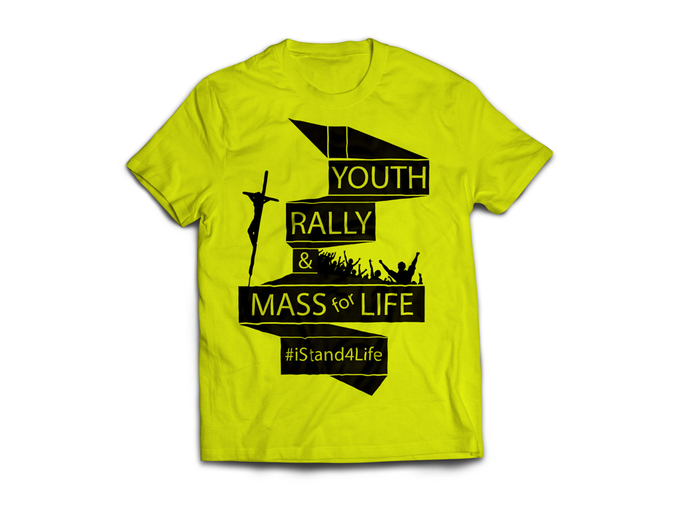 T-shirt designed for the Archdiocese of Washington