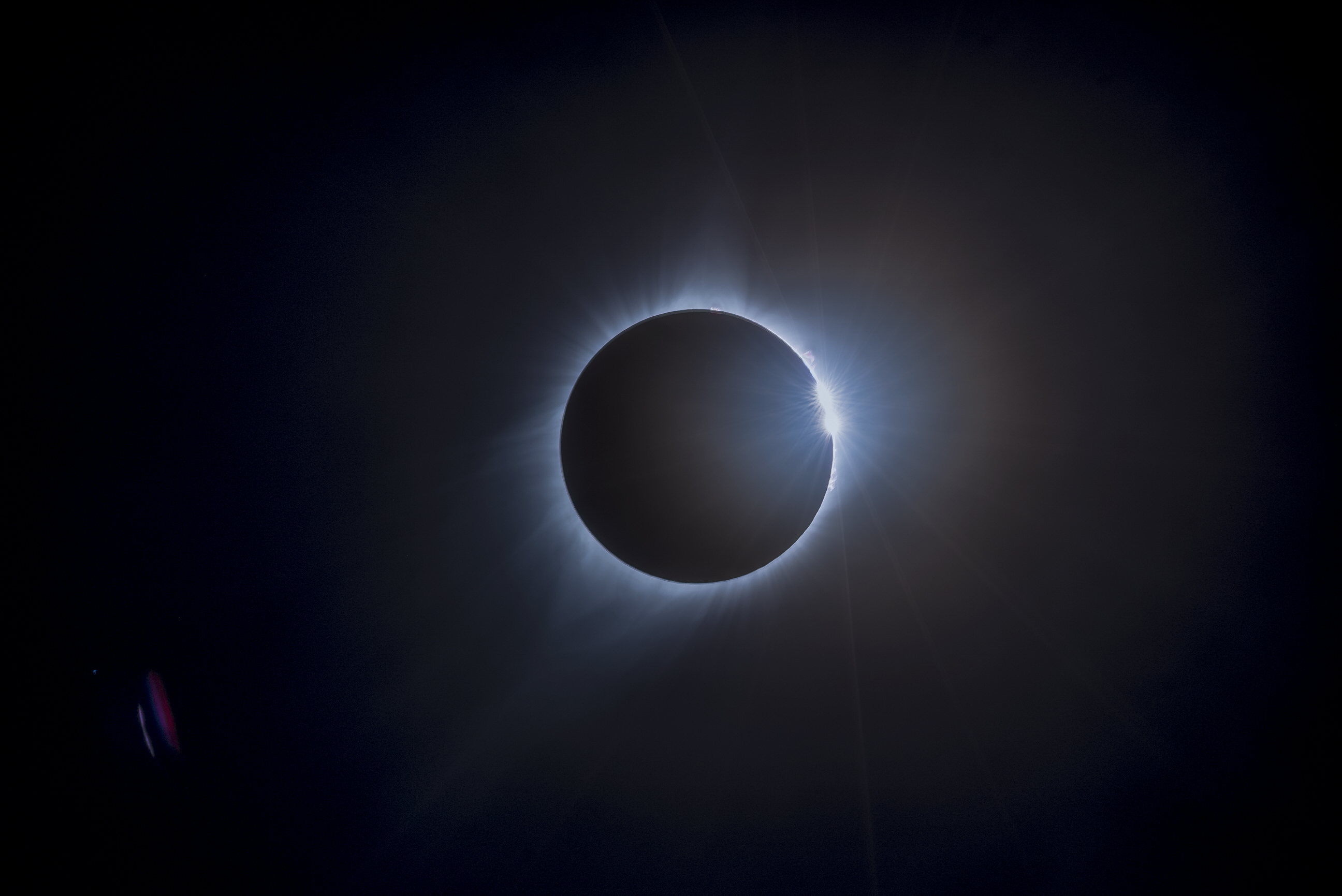 Nasa Photo of 2017 Eclipse